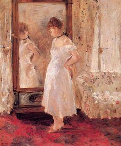 Berthe Morisot, Psyche, 1876