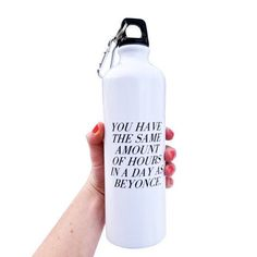 Inspirational Water Bottle, $16 | 37 Awesome Things You Need To Put On Your Wishlist Immediately