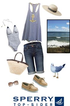 """To the Sea......"" by fullerflowers ❤ liked on Polyvore"