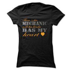 InLove With A Mechanic T Shirt, Hoodie, Sweatshirt