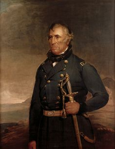 """Presidents in uniform: Zachary Taylor, known as """"Old Rough and Ready."""" He served in multiple wars, but is best known for his heroics as a Major General during the Mexican-American War."""