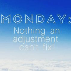 Case of the #holiday #Mondays?  Nothing an #adjustment can't fix  ☎ Call us to schedule yours, (818) 788-6817 #monday #fix #coffee #unwind #holidays #workweek #chiro #chiropractor #chiropractic #christmas #back #neck #spine #pain #relief #massage #therapy #follow #followme #encino #la #losangeles