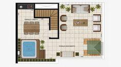 Cobertura duplex (superior) 116 m²
