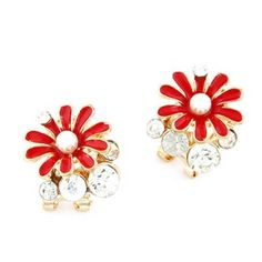 Red Chrysanthemum Flower Decorated De... | Shopo.in