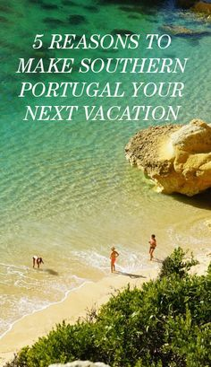 5 Reasons Why Southern Portugal Should Be Your Next Vacation: If I learned anything this year, it's that the roads less traveled, towns less touristy, and hotels less Instagrammed are often way worthier of your vacation time. Case in point: Southern Portugal. From its off-the-Google-Map rentals to its breathtaking beaches, here's why you should put SoPo on your wanderlist (and then check it off, like, right now). | coveteur.com