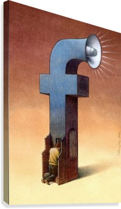 30 Illustrations By Pawel Kuczynski Showing What's Wrong With Modern Society The Polish artist Pawel Kuczynski is an absolute master, combining satire Art And Illustration, Facebook Addiction, Street Art, Satirical Illustrations, Satirical Cartoons, What Is An Artist, Facebook Art, I Hate Facebook, Facebook Canvas