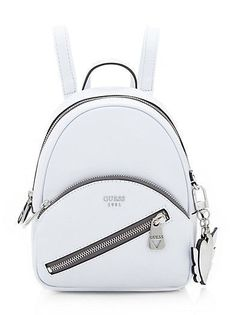 77ec5fb663a Backpack Outfit, Mini Backpack, Backpack Purse, Fashion Backpack, Guess  Backpack, Leather
