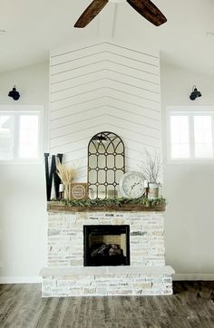 30 Farmhouse Fireplace Designs That Will Keep Your House Warm And Chic