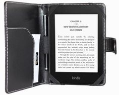 amCase(TM) high quality leather case and cover for Newest Kindle, Kindle Paperwhite and Kindle Paperwhite 3G. by Am. $9.99. Protect and enjoy your latest generation kindle with this amCase high quality PU Leather Case.   This case is made of High Quality PU Leather Material both inside and outside, protecting your kindle from bumps and scratches. Unique design allows you to access all the kindle features without taking off the case. With a slim, good-looking de...