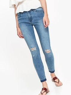 27 Best Jeansy z przedarciami. images | Vintage outfits