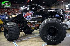 Bigfoot, Big Trucks, Old School, Monster Trucks, Retro, Vehicles, Monsters, Instruments, Ford
