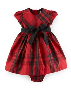 Fit-and-Flare Dress & Bloomer - Baby Girl Dresses & Skirts - RalphLauren.com
