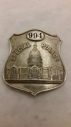 1920's to 30's Washington D.C. Special Police Badge