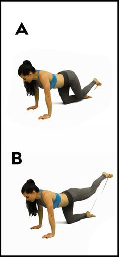 Are you tired of the same old butt exercises? Well, if that's a yes, then here are 4 butt exercises with resistance bands that will help to tone and firm up your booty. To perform these exercises you will need a resistance band that you can get cheaply at your local health store or Amazon. … Read More →