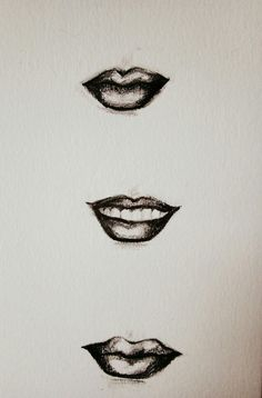 Lips  Quick sketch