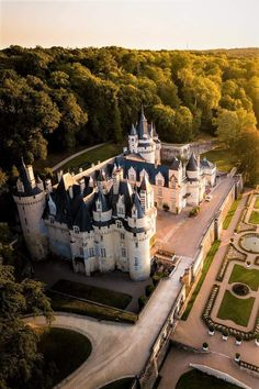 Beautiful Castles, Loire, Mount Rushmore, Dolores Park, Manor Houses, Chateaus, Palaces, Architecture, Type 3