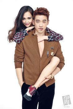 Rain poses sweetly as a couple with Chinese actress Tiffany Tang for 'Femina' | allkpop