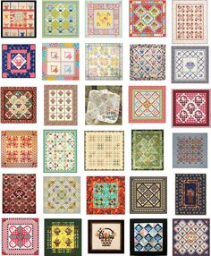 Free Patterns:  Basket Quilts.  Updated August, 2015 at Quilt Inspiration.