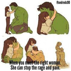 💖💕 Betty & The Incredible Hulk/Bruce Banner 💕 Marvel Art, Marvel Heroes, Hulk Logo, Rage, Hulk Tattoo, Hulk Art, Bruce Banner, A Beast, Dc Comics