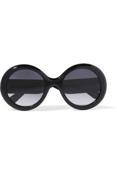 8a7b9f16a3d Black glittered acetate Come in a designer-embossed case UV protection Made  in Italy