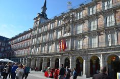 cosasdeantonio: Plaza Mayor de Madrid Street View, Statues, Vacations, Photos