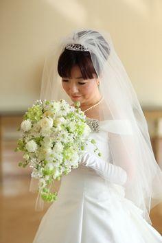 新郎新婦様からのメール ヨコハマグランドインターコンチネンタルホテルさまへ 雪花 : 一会 ウエディングの花