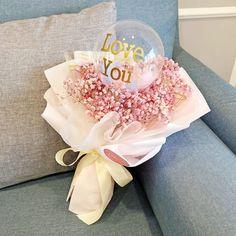 Flower Shop Decor, Flower Shop Design, Flower Bouquet Diy, Beautiful Bouquet Of Flowers, Birthday Balloon Decorations, Birthday Balloons, Balloon Flowers, Balloon Bouquet, Felt Flower Pillow