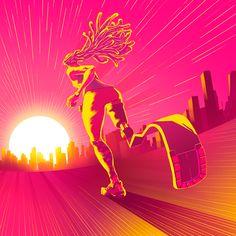 Awesome selection of work by Brazilian character design, animator and illustrator Shun Izumi. Flat Design Illustration, Graphic Illustration, Illustrations, Stuffed Animal Cat, Famous Logos, Graphic Design Print, Book Cover Design, Motion Design, Amazing Art