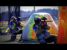 DBS Tsunami Speedball Team Paintball (Drone Footage) - YouTube