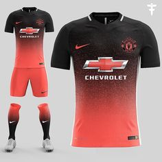 Manchester United Nike Third Kit Concept by FootballFactory - Footy Headlines