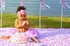 Smash the Cake de 1 ano - Isabela Morais
