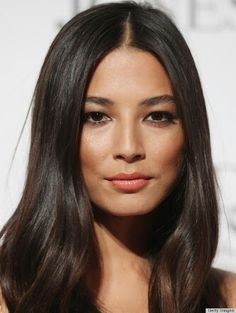 Jessica Gomes healthy dark locks