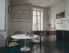 #brick #house #industrial #kitchen