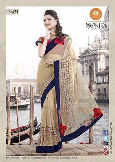 Pakistani Saree Designer Partywear Ethnic Wedding Sari Dress Indian Bollywood #TanishiFashion #DesignerSaree