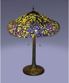 Love tiffany style lamps!