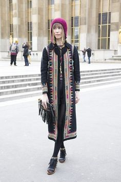 """Anya Ziourova, stylist """"My coat is by Valentino."""" Photo By Dvora Cool Street Fashion, Street Chic, Anna Dello Russo, Couture Fashion, Spring Summer, Summer 2014, Nice Dresses, Style Me, Fashion Outfits"""