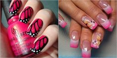 Pink Nail Art Designs for Beginners