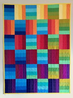 Have a look at this amazing quilt modern - what a clever conception Strip Quilt Patterns, Jelly Roll Quilt Patterns, Modern Quilt Patterns, Strip Quilts, Quilt Modern, Skirt Patterns, Blouse Patterns, Quilt Blocks, Sewing Patterns