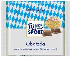 RITTER SPORT Fake Schokolade Sorte Obatzda