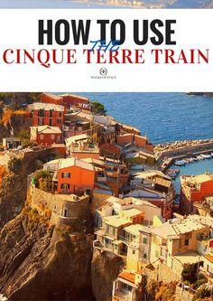 An concise guide to getting around the Cinque Terre on the train by Walks of Italy.
