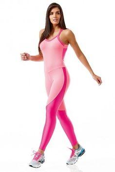 Macacão NZ Yoga - Caju Brasil 5680176 Dani Banani Fashion Fitness