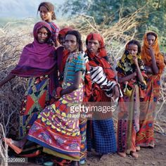 Africa Tribes, Ethiopian Tribes, Tribal Group, Beauty Around The World, Rural Area, World Cultures, Girls Wear, The Past, Bohemian