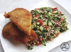 Tabbouleh Wheat Free Recipes, Gf Recipes, Gluten Free Recipes, Baking Recipes, Gluten Free Diet, Favorite Recipes, Lunch, Snacks, Meals