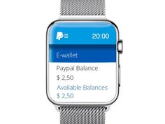 Paypal App for Apple Watch