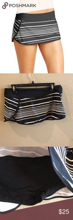 Athleta Encinitas Kata Swim Skirt, In great preloved condition. Built in briefs. Athleta Swim Coverups