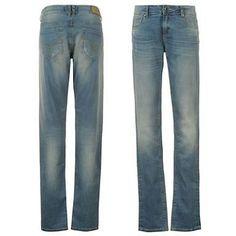 Firetrap-Skinny-Jean-Ladies-Size-16R-Mid-Blue