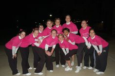 Here is a photo of me from my Undergrad college where our Cheerleading Squad held a benefit for Breast Cancer. Later we also did benefits for a local animal shelter, child literacy program, and several other benefits.
