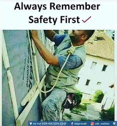 La sécurité avant tout ! #VDR #HUMOUR #FUN