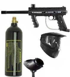 Tippmann PLATINUM 98 Custom Paintball Gun Package by Tippmann. $144.00. Tippmann's new 98 Custom Platinum Series is now easier to upgrade modify and maintain.  New Features Include:  * Split Receiver Design,which provides easier access to internal components for simplified installation of grip upgrades and modifications  * Secure Front Sight Spring and Trigger Pins, which makes the marker easier to service and reassemble  * Easy-to-Remove Power Tube Design self-sealing/locking...