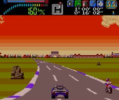 ultrace:      Victory Run is a rather simple and unassuming game, and one that I'm surprised ended up as TurboGrafx-16 title. Although certainly not bad, it doesn't really do much to show off the power of NEC's console. The graphics are only a notch above those of the NES. The soundtrack is nice (but only has a handful of songs), and the driving itself doesn't really offer a lot that we couldn't get out of Rad Racer or Al Unser Jr.'s Turbo Racing. This is probably all owing to being part of…